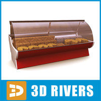display freezer cheese 3d max