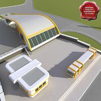 Gas station V18