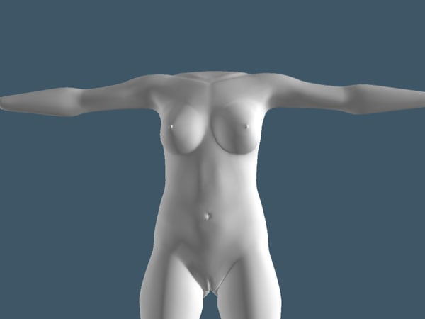 free 3ds model woman body