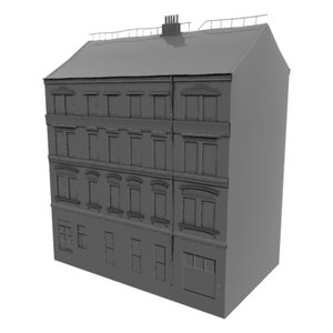 3d buildings prague games model