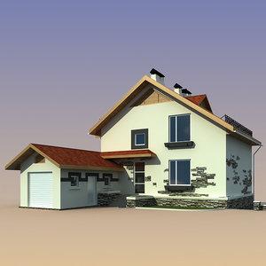 house design 3d max