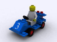3d lego racer