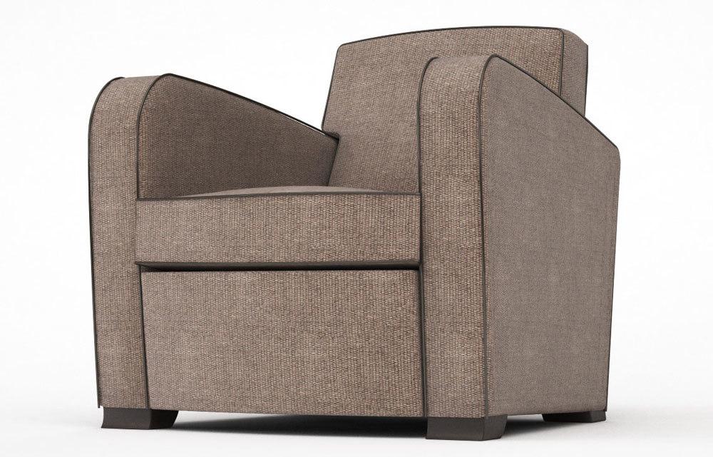 3d model lounge chair studio