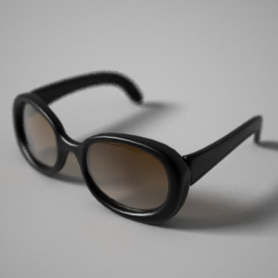 sunglasses glasses sun 3d model