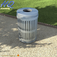 3d model wastebasket 04