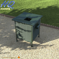 3d wastebasket 06 model