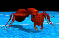 3d fire-ant ant model