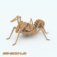 3ds max ant jigsaw puzzle