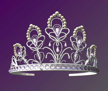 3d model queen crown