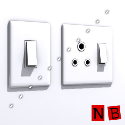 3ds max lights electrical fittings