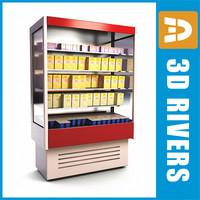 wall freezer 3d max