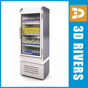 refrigerating freezer 3d model