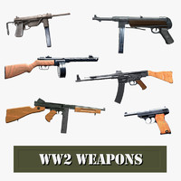 weapons ww2 german 3ds