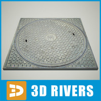 Manhole 04 by 3DRivers