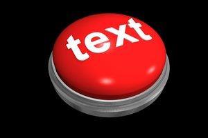 3d model button easy