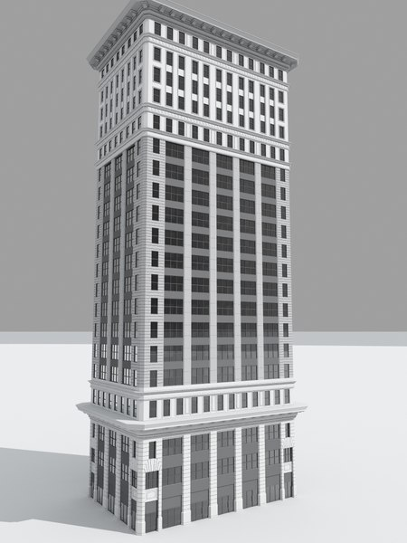 skyscraper sky scraper 3d max