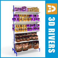 Shelves 01 pet food by 3DRivers