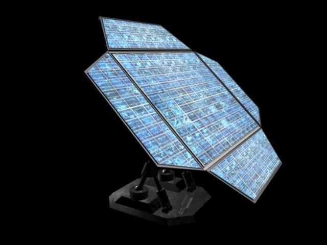 solar panel 3d ma