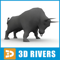 3ds max symbol 2009 yellow bull