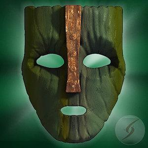 3d pelicula mask model