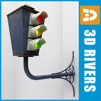 Old traffic light by 3DRivers