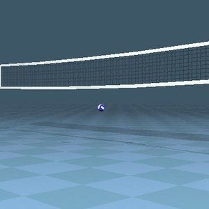 free obj mode official volleyball net