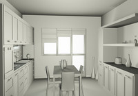 cucina kitchen.c4d