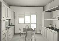 cucina kitchen.c4d