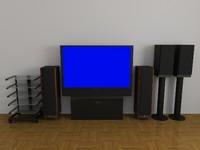 3d model old stereo