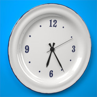 clock ikea 3d model