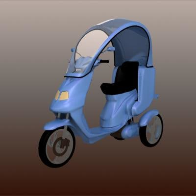 3 wheels scooter 3ds