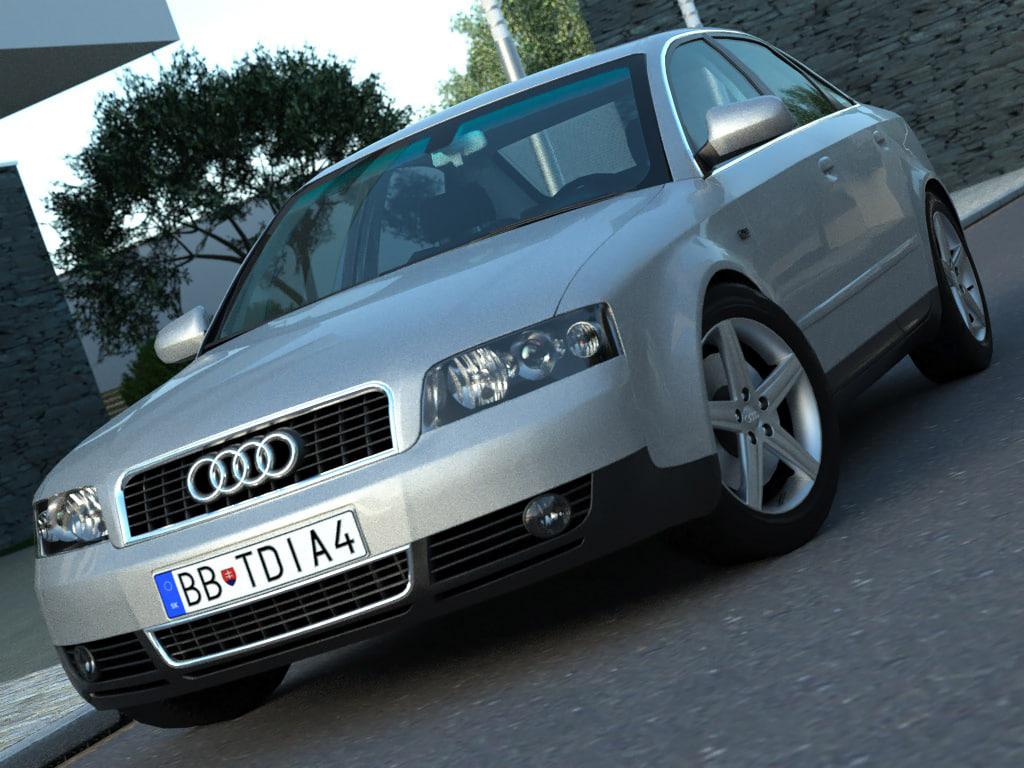 3ds max sedan luxury
