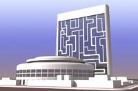 3d max future building 01