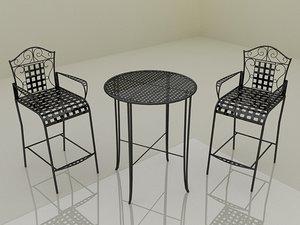 max bistro set coffee table