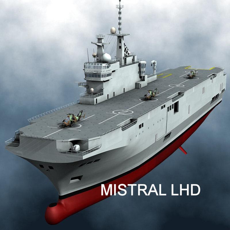 mistral lhd 3d model