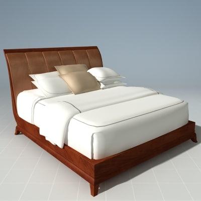 3d designer bed