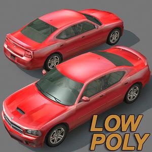 3d model luxury car