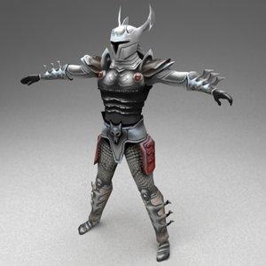 3ds max fantasy warrior