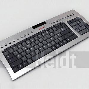 keyboard 3d x