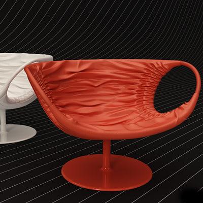 maya moroso smock chair