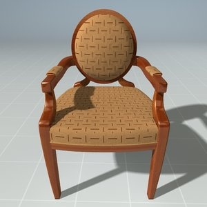 oval chair max