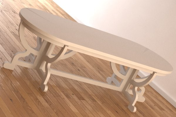 paper table moooi 3d 3ds