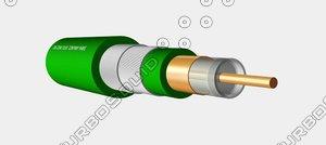 3d cable coax