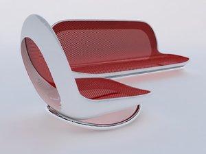 3d model sofas sillones