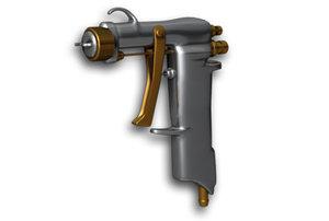 3d model paint spray gun