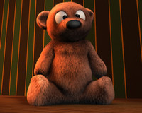 cinema4d teddy bear