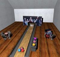 free bowling 3d model
