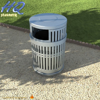 3d wastebasket 03 model