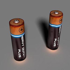 leaky battery 3d model