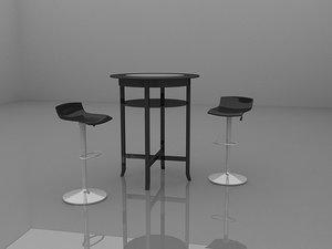 maya bistro set coffee table